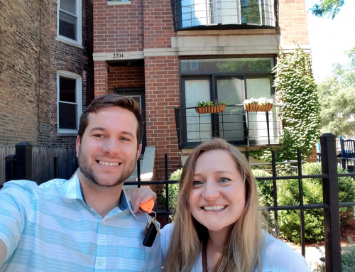 Brendan and Tamara Buy in East Humboldt Park
