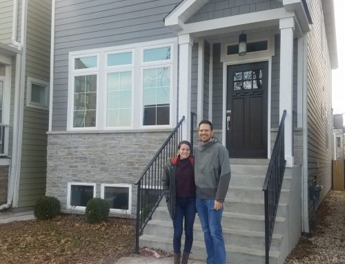 Phil and Liz landed a new construction, single-family home in Andersonville